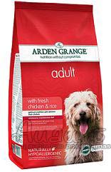 Arden Grange Adult Dog Chicken & Rice su vištiena ir ryžiais 12 kg.