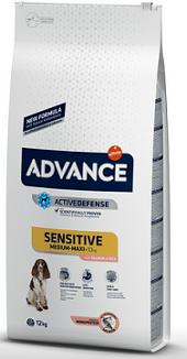 Advance dog adult sensitive salmon&rice su lašiša ir ryžiais 12 kg