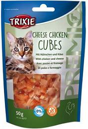 Trixie Premio Cheese Chicken Cubes skanėstai 50 g