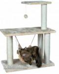 Trixie Morella kačių stovas su drąskyklė, hamaku, žaisliuku 96 cm smėlinis