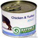 Nature's Protection Adult Chicken & Turkey suaugusių šunų konservai su vištiena ir kalakutiena 200 g