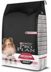 Pro Plan Dog Adult Medium Sensitive Skin vidutinių veislių jautrią odą turinčių suaugusių šunų pašaras su lašiša ir ryžiais, 14 kg