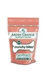 Arden Grange Crunchy Bites traškūs kąsniukai su šviežia lašiša 250 g.